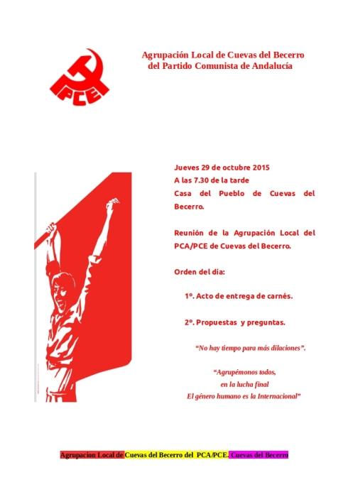 Entrega de carnés PCA CdelBecerro 29102015
